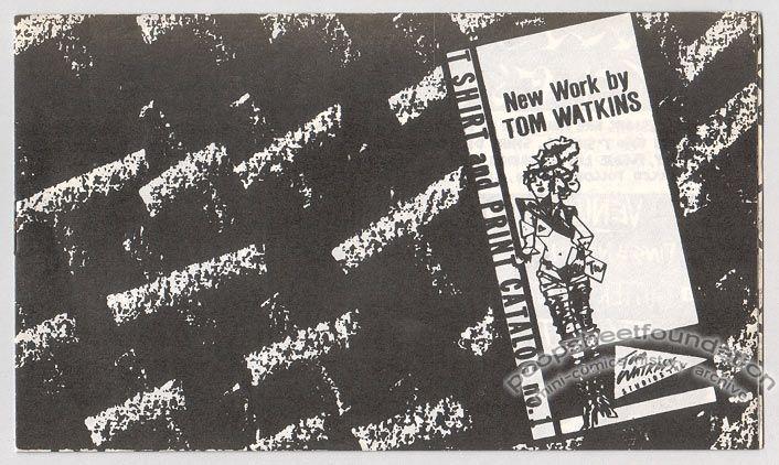 Tom Watkins T Shirt and Print Catalog #1