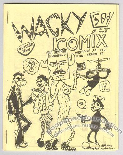 Wacky Komix #1
