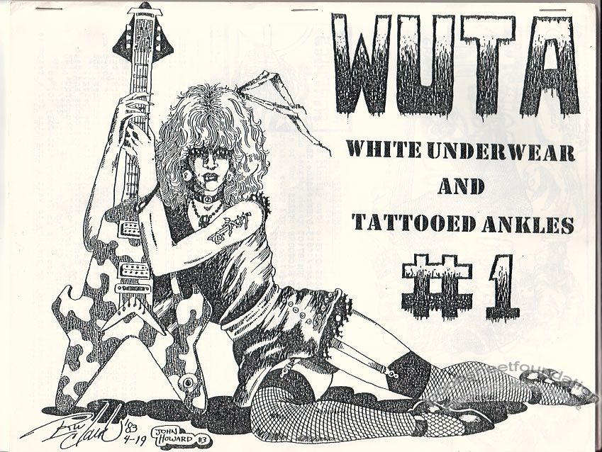 WUTA #1: White Underwear and Tattooed Ankles