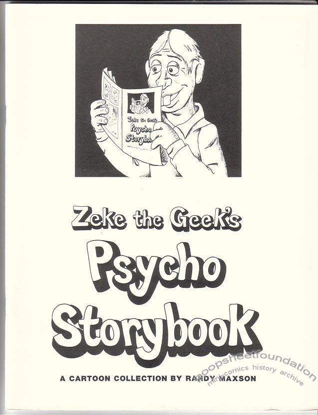 Zeke the Geek's Psycho Storybook