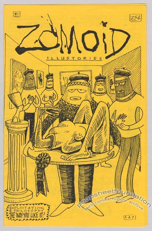 Zomoid Illustories Vol. 1, #01