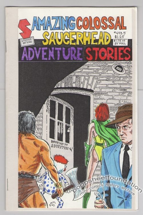 Amazing Colossal Saucerhead Adventure Stories #493.5