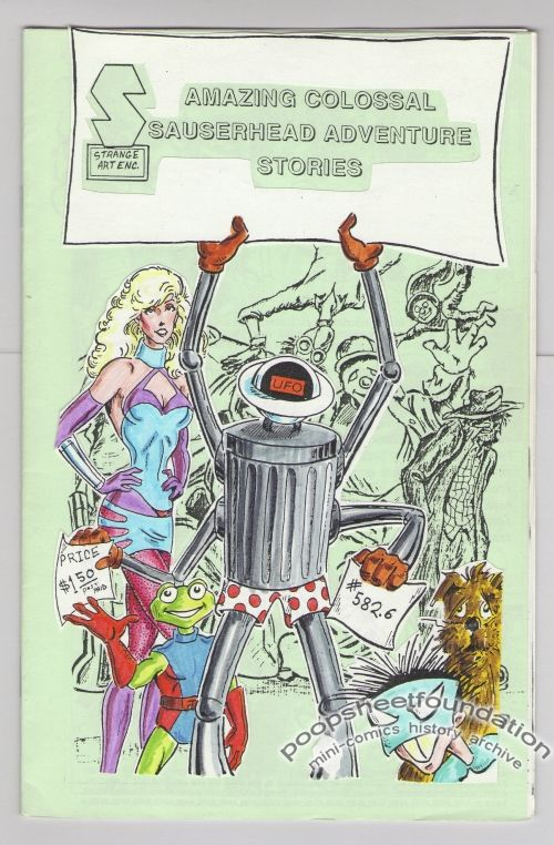 Amazing Colossal Saucerhead Adventure Stories #582.6