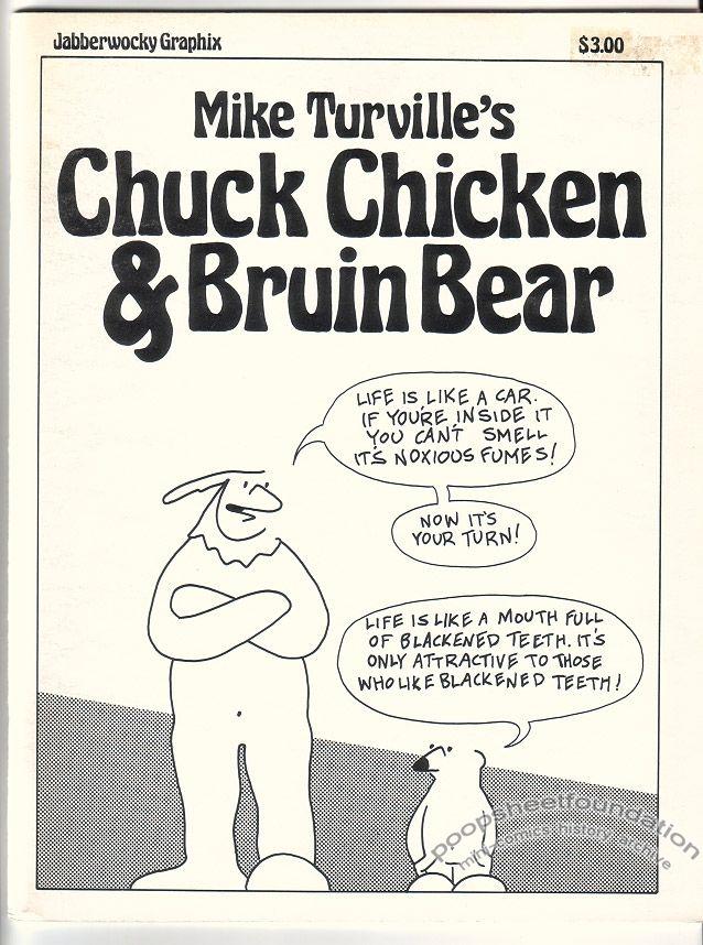 Chuck Chicken & Bruin Bear