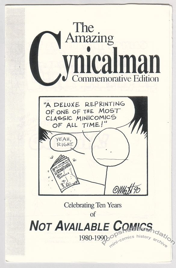 Amazing Cynicalman, The: Commemorative Edition