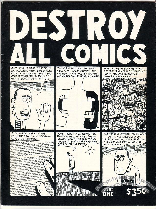 Destroy All Comics Vol. 2, #1