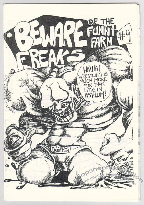 Beware of the Funny Farm Freaks #09