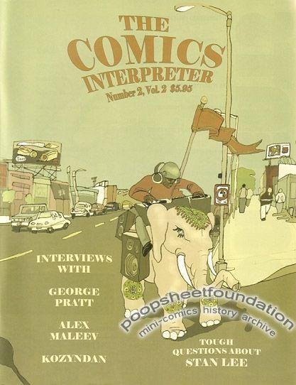 Comics Interpreter, The Vol. 2, #2