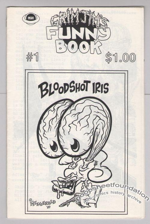 Grim Jim's Funny Book #1