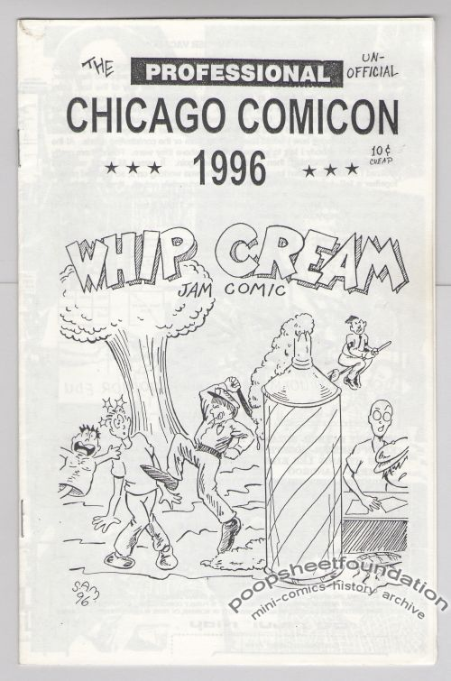 Chicago Comicon 1996 Whip Cream Jam Comic