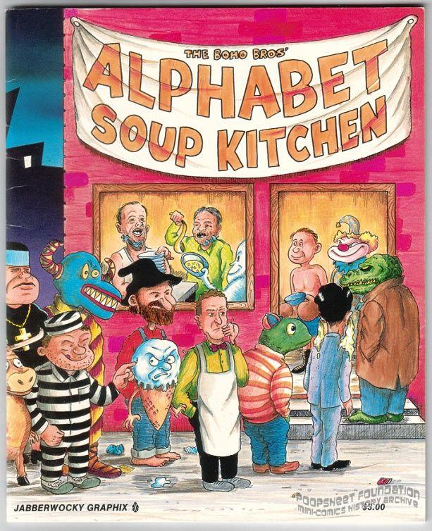 Boho Bros' Alphabet Soup Kitchen, The (2nd ed)