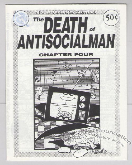 Death of Antisocialman, The #04
