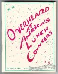 Overheard at America's Lunch Counters #5