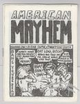 American Mayhem #1