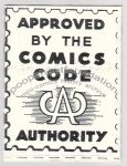Approved by the Comics Code Authority