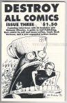Destroy All Comics Vol. 1, #3
