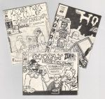 Micro-Comics #084: Memos from the Cell of the Mad Cartoonist #1