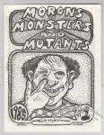 Morons, Monsters and Mutants #1