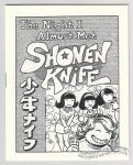 Night I Almost Met Shonen Knife, The