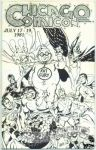 Chicago Comicon 1981 program