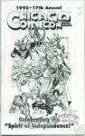 Chicago Comicon 1992 program