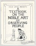 Textbook on the Noble Art of Observing People, A