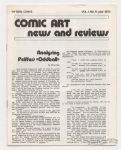 Comic Art News and Reviews #11