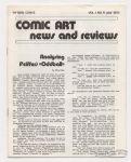 Comic Art News and Reviews #11
