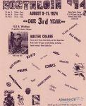 Nostalgia '74 flyer