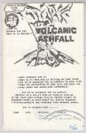 Volcanic Ashfall