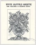 White Buffalo Gazette Vol. Salteena, #Greased Linoleum (November 1996)
