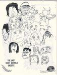 White Buffalo Gazette Vol. Chips on my Shoulder, #Say Hello, Wave Goodbye (November 1998)