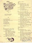 San Diego Comic-Con 1974 schedule