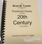 Brad W. Foster Checklist of Published Works from the 20th Century (1972-2000), The
