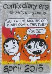 Stratu's Diary Comix April 2015