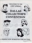 Dallas Collector's Convention Spring 1997 program
