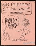 No Redeeming Social Value Comics