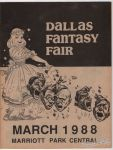 Dallas Fantasy Fair March 11-13, 1988 program