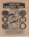 Dallas Fantasy Fair November 23-25, 1990 preview