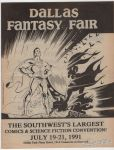 Dallas Fantasy Fair July 19-21, 1991 preview