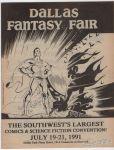 Dallas Fantasy Fair July 19-21, 1991 preview