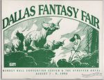 Dallas Fantasy Fair August 7-9, 1992
