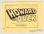 "Howard the Duck in ""Inner Space"""