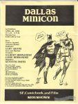 Dallas Minicon flyer (April 20, 1985)