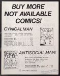 Not Available Comics catalog 1985