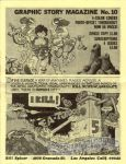 Graphic Story Magazine #10 advertisement