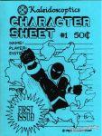 Character Sheet #1