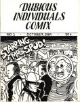 Dubious Individuals Comix #1