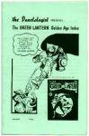 Green Lantern Golden Age Index, The Vol. 2