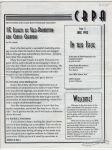 CBPA Newsletter #1